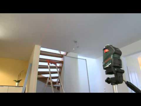 Set laser lignes 360 bosch pll 360 youtube for Laser bosch pll 360