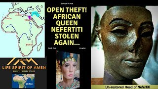 Black  African Queen Nefertiti Stolen Again...Black History Month@Social Conscious Media