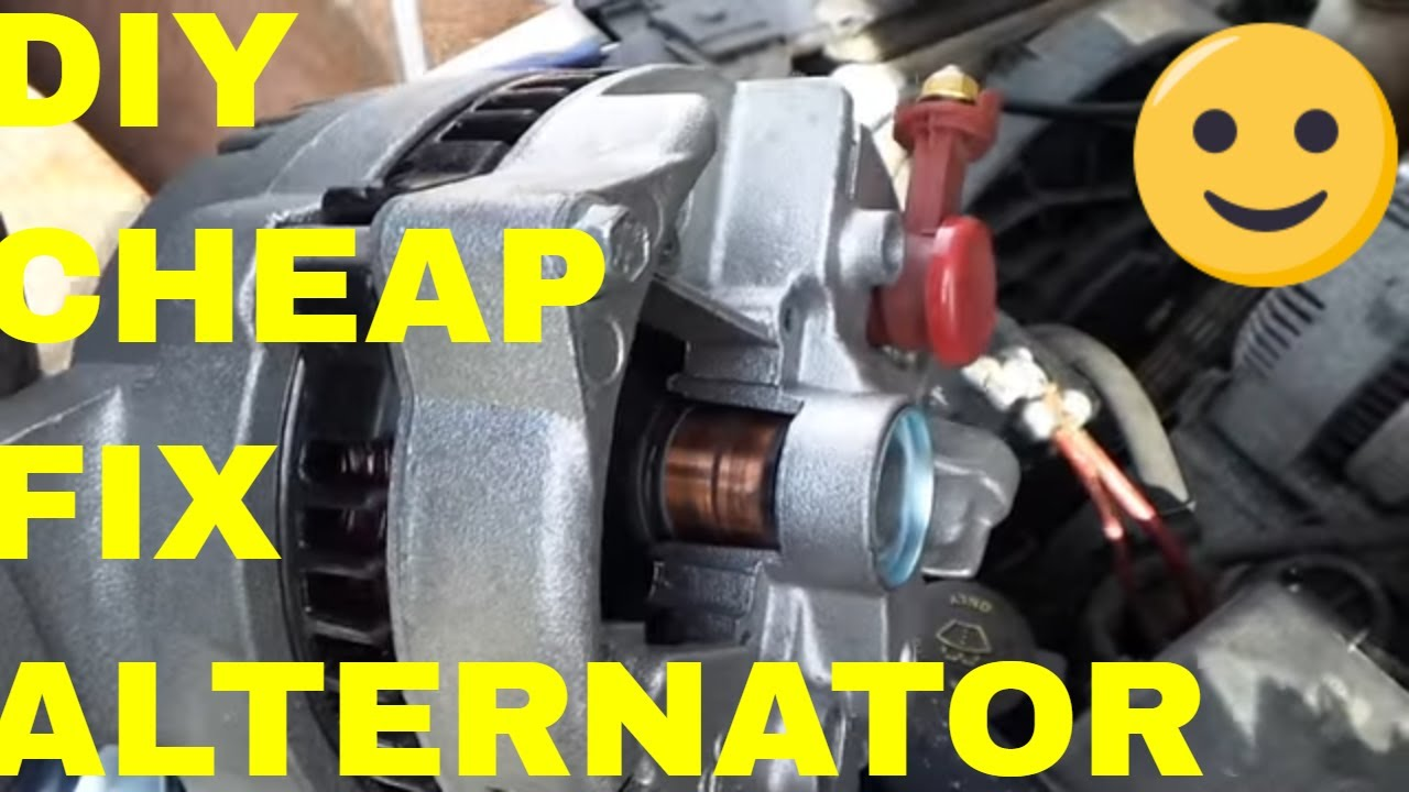 Cheap Ford Alternator Repair