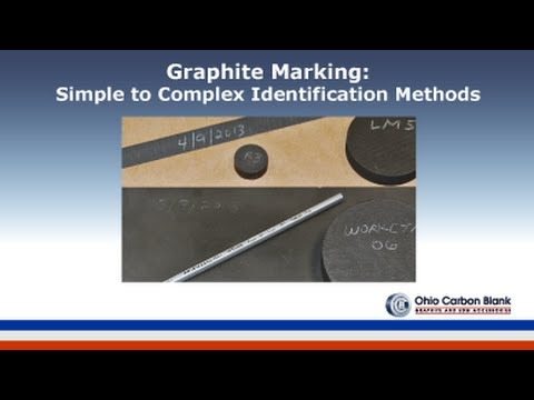 Graphite and Electrode Marking for Electrical Discharge Machining by Ohio  Carbon Blank
