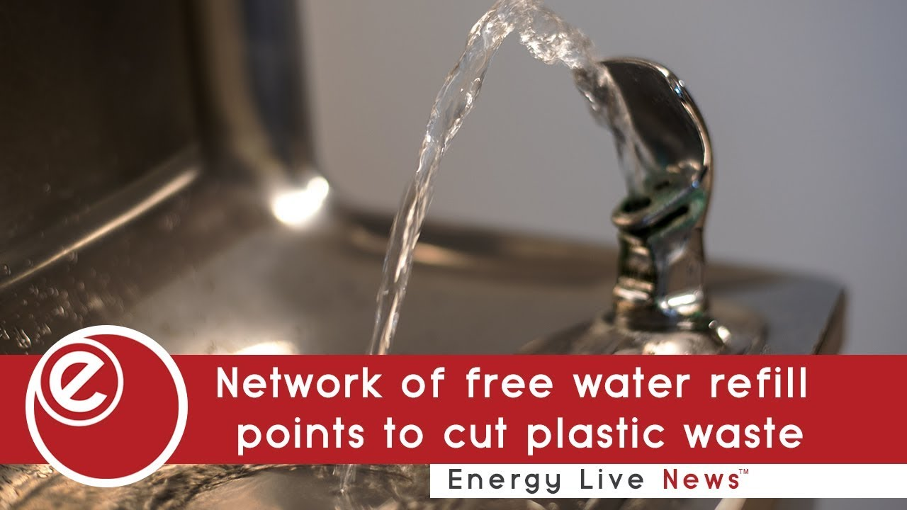 Network of free water refill points to fight plastic waste