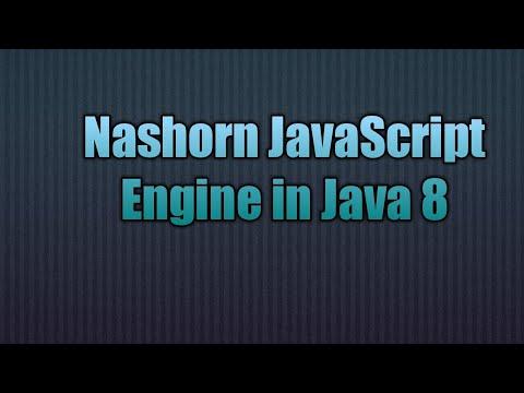 56.Nashorn JavaScript Engine in Java 8