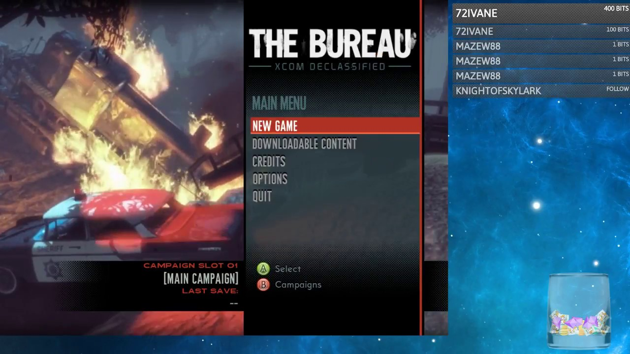 Cendril streams the bureau : xcom declassified stream 1 youtube