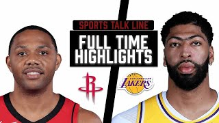 Rockets vs Lakers HIGHLIGHTS Full Game | NBA May 12