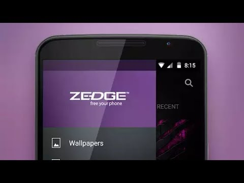 Zedge app hd Wallpapers and Ring tone etc.