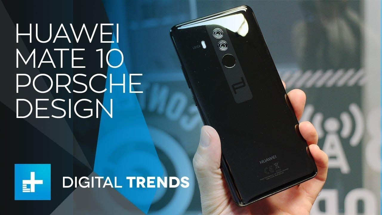 Huawei Mate 10 Porsche Design – Hands On