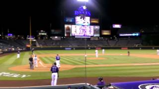 7/16/12 COLORADO ROCKIES Jason Giambi CRACKS ONE
