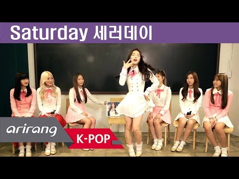 [Pops in Seoul] Wait for us! Saturday(세러데이) Members' Self-Introduction Mp3
