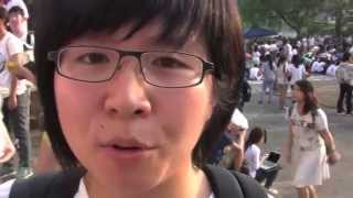 """Voices from Hong Kong Class Boycott 9/22/14: """"We Are Not the Silent Majority"""""""
