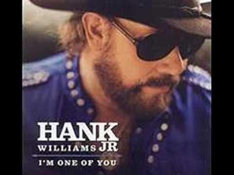Hank Williams Jr -  I'm Just A Man