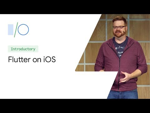Building For IOS With Flutter (Google I/O'19)