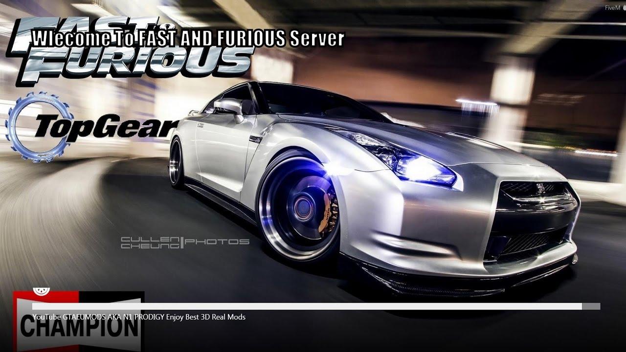 GTA 5 Fast and Furious 8 FiveM Server Mods