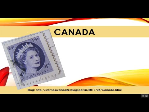 Canada Postage Stamps, Rare And Old Postage Stamps Of Canada - #StampsWorld
