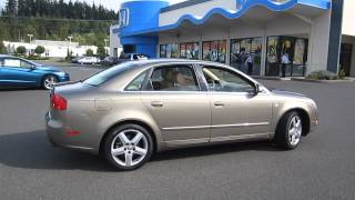2005 Audi A4, Beige - STOCK# 6156A - Walk around