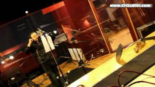 CRIZZ BIEL (Krzysztof Bielecki) - For All My Life - Studio Recording Session - Interview
