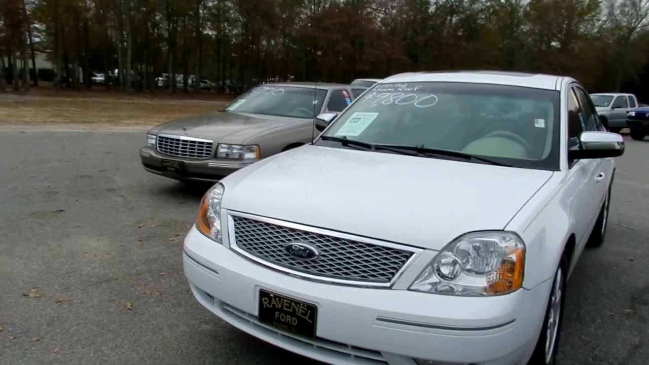 2006 ford five hundred review limited for sale ravenel. Black Bedroom Furniture Sets. Home Design Ideas