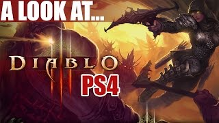 Diablo 3 Ultimate Evil Edition (PS4) 1080p Demon Hunter Gameplay & First Impressions