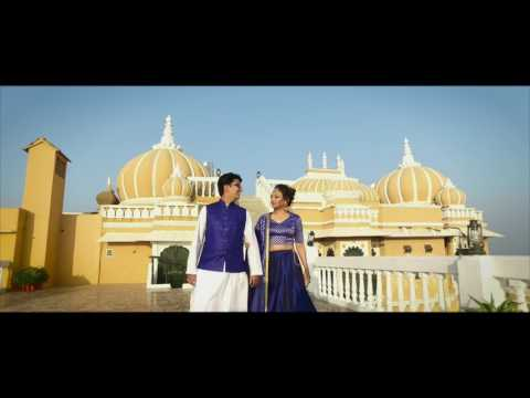 Neel & Rucha Save The Date | Udaipur Deogarh Palce