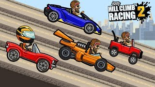 NEW TRACK DAY - HILL CLIMB RACING 2 WALKTHROUGH