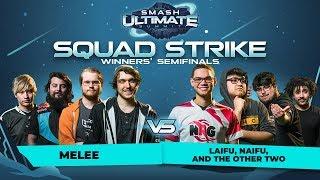 MELEE vs Laifu, Naifu and the Other Two - Squad Strike Crew Battle:...
