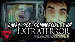 "Every 90s Commercial Ever (Uncensored) - ""Extra Terror Vídeo-reacción"" 