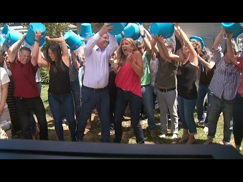 Nancy O'Dell Takes The ALS Awareness Ice Bucket Challenge!