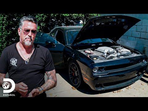 Recupera Un Dodge Challenger Hellcat Que Le Fue Robado | El Dúo Mecánico | Discovery En Español