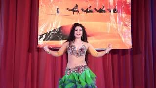 Анна Перова Фестиваль Восточного танца Караван 2017