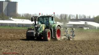 Ploughing with Fendt 718 Vario PLUS lots of Action from other Tractors.