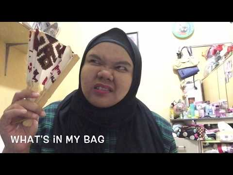 WHAT'S IN MY BAG...??? (INDONESIA)