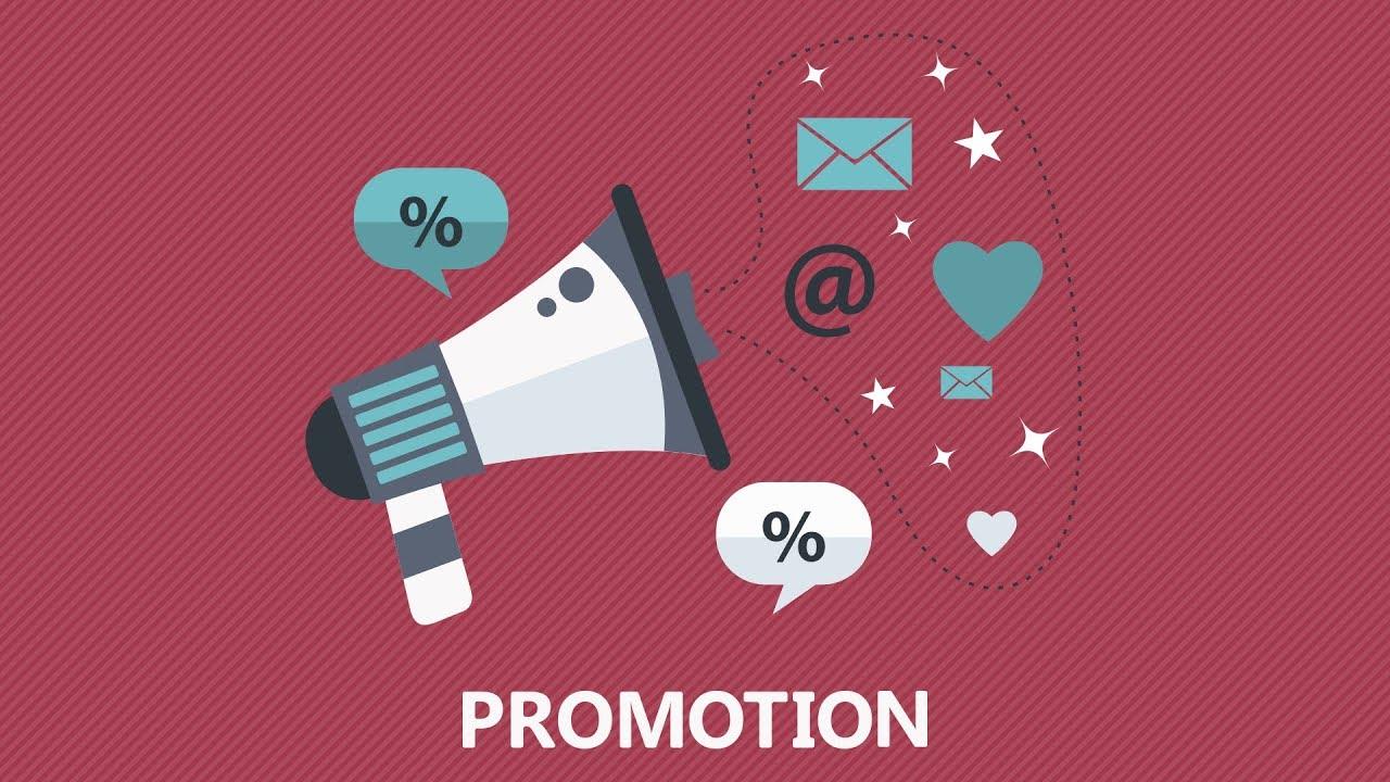 the marketing mix marketing promotion youtube