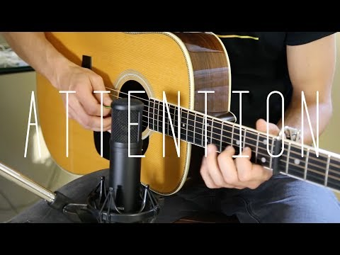 Attention - Charlie Puth -  Acoustic Guitar Cover