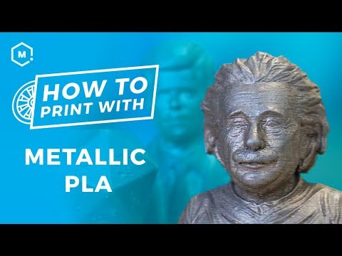 How To Succeed With Metal PLA // Metallic Infused 3D Printer Filament