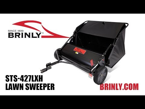 How To Assemble The Brinly (MODEL STS-427LXH) Lawn Sweeper