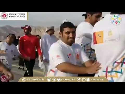 131841620 لقاء فرسان الإمارات مع سعيد المزروعي خلال فعالية نمشي معا