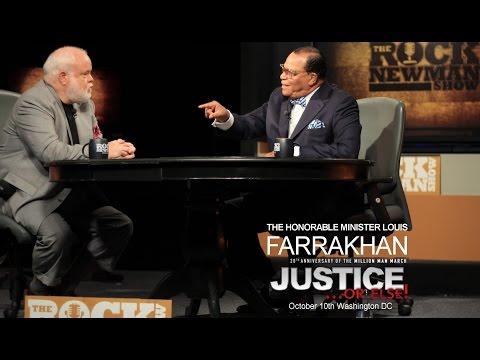 Minister Louis Farrakhan on The Rock Newman Show 2015