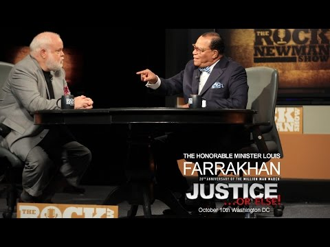 Minister Louis Farrakhan on The Rock Newman Show 2015