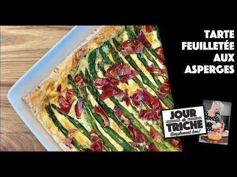 tarte-feuilletée-aux-asperges---jour-de-triche