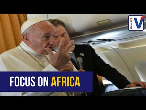 Pope in Africa, presidential health scare and GOLD!