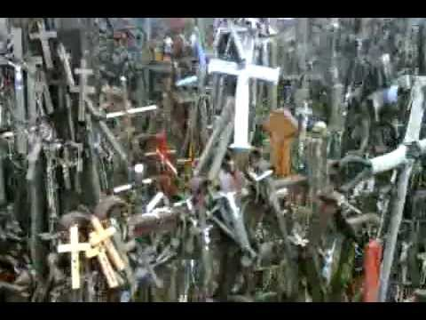 The 'Hill of Crosses' at Šiauliai, Lithuania