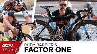 Rudy Barbier's Factor One Aero Road Bike