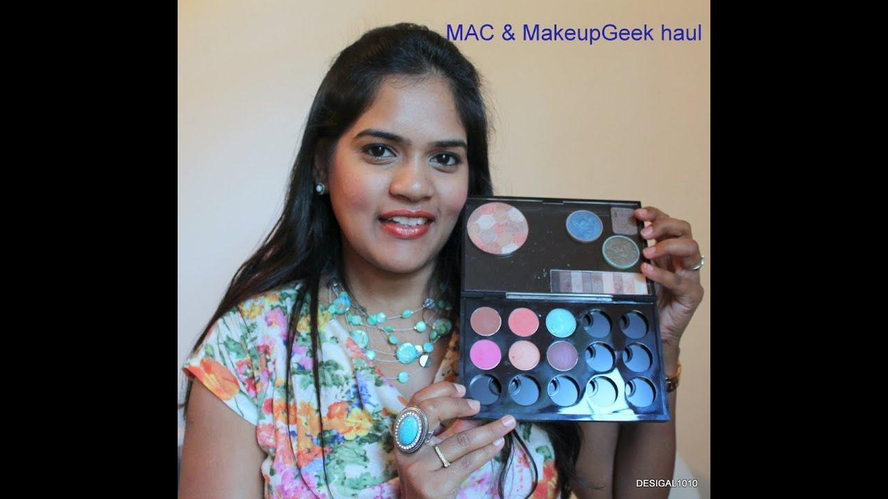 MAC Palette & MakeupGeek Eyeshadows Haul   Desigal1010