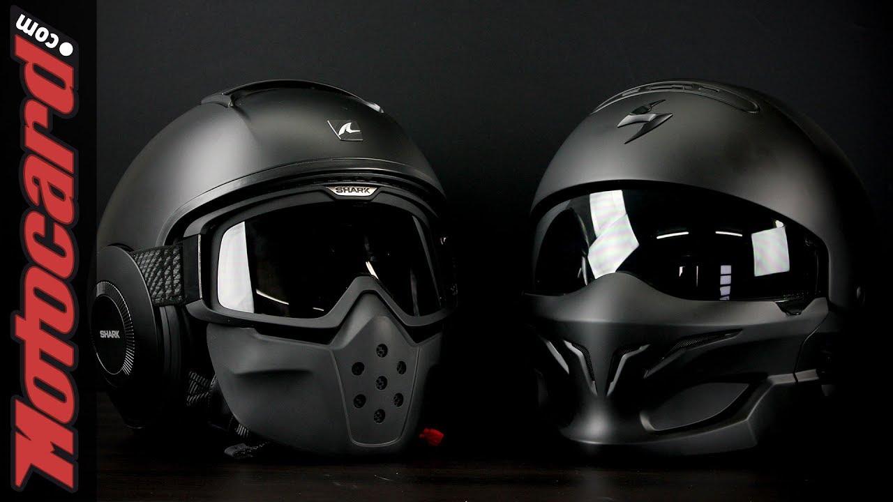 SCORPION EXO-Combat Solid MOTO CASCO STREET FIGHTER-TITANIO