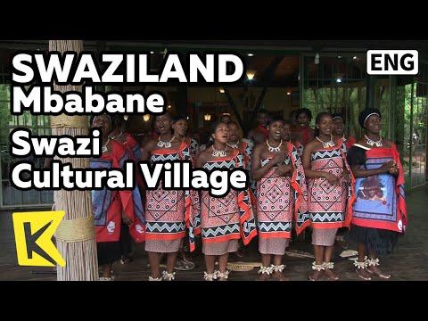 【K】Swaziland Travel-Mbabane[스와질란드 여행-음바바네]스와지 부족/Swazi Cultural Village/Restaurant/Performance/Dance