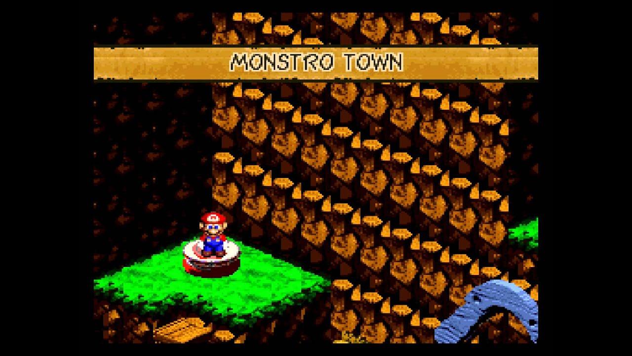Super Mario RPG - Legend of the Seven Stars (SNES) Super