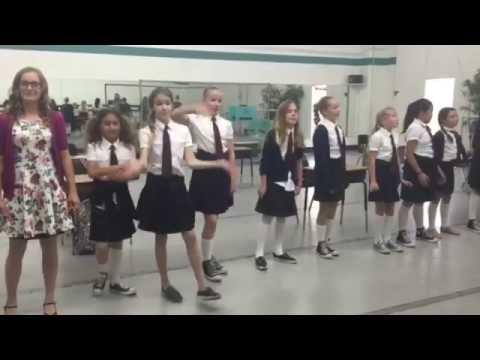 "Huntington Academy of Dance Musical Theatre Matilda ""Naughty""- A Capella"