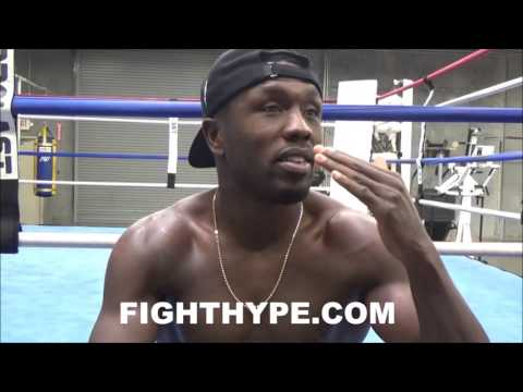"""(DEEP!!) ANDRE BERTO OPENS UP ON AL HAYMON RELATIONSHIP; RECALLS BEING ONE OF HIS """"FIRST YOUNG BOYS"""""""