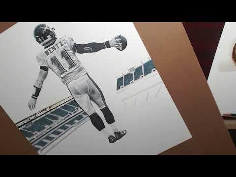Drawing Carson Wentz