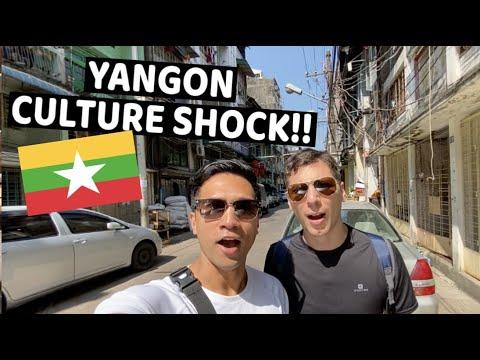 first impression YANGON, MYANMAR *BIGGEST CULTURE SHOCK!!*