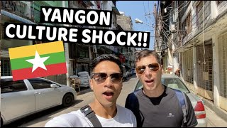 first impression YANGON, MYANMAR *BIGGEST CULTURE SHOCK!!*